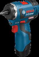 Аккумуляторный шуруповёрт Bosch GSR 10,8 V-EC HX L-BOXX (06019D4100)