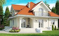 Строительство коттеджей в Днепропетровске, 187 кв.м, быстровозводимые дома, строительство Днепр, стройка Киев