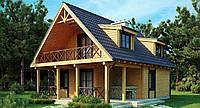 Строительство дачного дома в Днепропетровске, каркасное строительство, строительство коттеджей