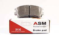 Колодки тормозные передние Mazda 6 GG 2.0 2002-->2007 ASM (Великобритания) FR257097