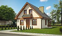 Строительство каркасной дачи, дом дача, дача по канадской технологии, недорогая дача
