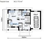 Каркасный дом: цена строительства по канадской технологии в Киеве, Днепре, фото 3