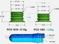ПЭТ преформа PCO 1881 низкое горло 15,7 грамм