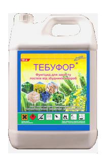 Фунгицид / фунгіцид Тебуфор (Фоликур) тебуконазол 250 г/л, для пшеници, ячменя, рожь, овес, рапс, фото 2