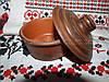 Соусник из красной глины