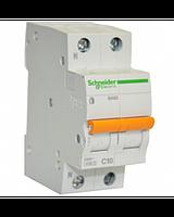 Автоматический выключатель ВА63 1П+Н 40 A C серия Домовой Schneider Electric, фото 1