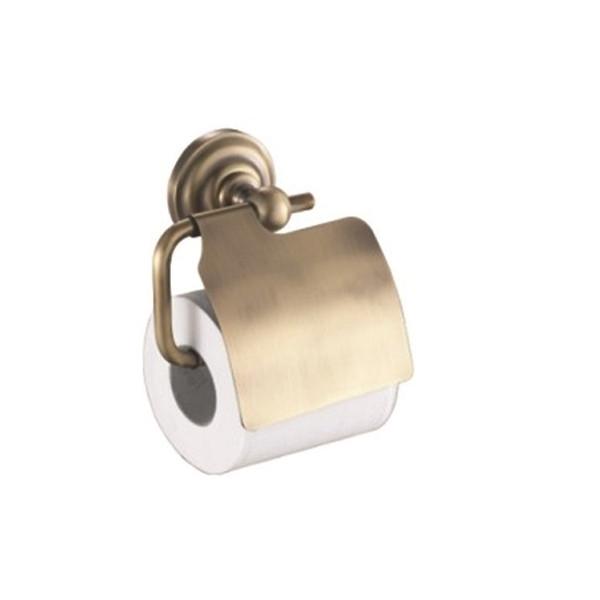 Держатель для туалетной бумаги, BRONZE, KL-73810