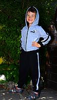 Детский спортивный костюм Puma для мальчиков из трикотажа хорошего качества
