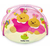 Развивающий коврик Два кролика Baby mix