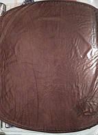 Кожаный коврик для мышки коричневый