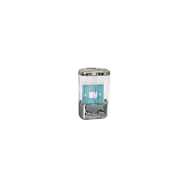 Дозатор д/мыла 2-й, пластик под хром, KL-304