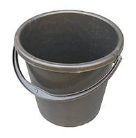 Ведро пластиковое 10 литров черное
