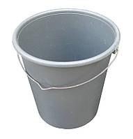 """Ведро пластиковое 9 литров с металлической ручкой """"ЧП Бондарь"""""""