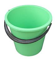 Ведро пластиковое 10 литров цветное