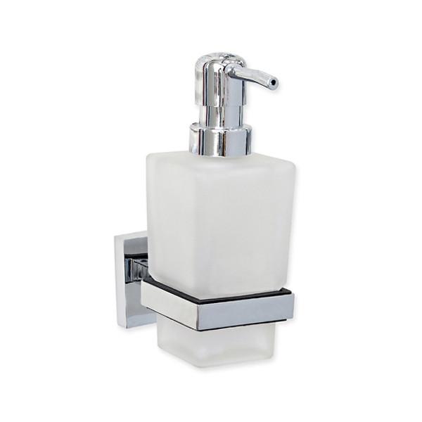 Дозатор для мыла квадратный, PLASA, 87012А
