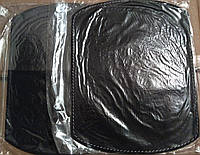 Кожаный коврик для мышки черный