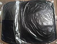 Кожаный коврик для мышки черный, фото 1