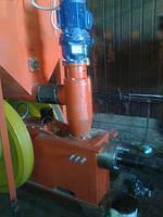 Пресс  Брикетировщик для изготовления топливного брикета из шелухи подсолничника