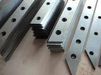 Изготовим ножи для гильотинных ножниц рубильных машин