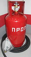Газовый комплект - баллон 12л+редуктор+рукав 2 м+крепеж пр-во Беларусь