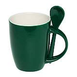 Чашка з ложкою 300 мл, фото 5