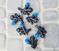 Форсунка, распылитель для тракторных и мотоблочных опрыскивателей двух типов: угловые и промежуточные ПРЕМИУМ!