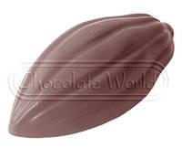 Форма для шоколада Какао бобы 50x24x12 мм Chocolate World 1558 CW