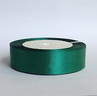 Лента атласная 2,5 см    зеленый, фото 1