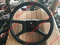 Руль Заз 1103 1102 славута таврия Люкс (4 спицы тонкие) без кнопки сигнала (11021-3402014), фото 1