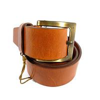 Ремень мужской кожаный универсальный Tony Bellucci 48400 коричневый, винтаж