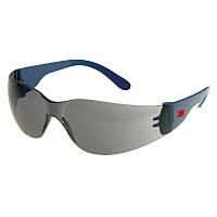 Защитные очки 3М 2721 классические, затемненные