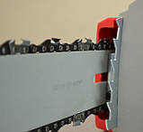 Электропила цепная 2000Вт 800 м/мин шина 400мм 230В INTERTOOL DT-2201, фото 3