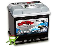 АКБ SZNAJDER Silver Premium 6СТ- 55Ah 530A R