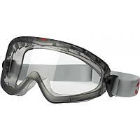 Захисні окуляри маска закриті 3М 2890А прозорі з ацетатної лінзою