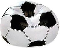 """Надувное кресло Intex """"Футбольный мяч"""" 110х108х66 см"""