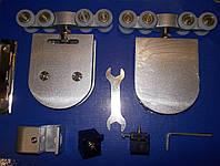 Система для раздвижных стеклянных дверей до 80 кг