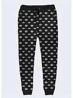 Оригинальные женские брюки Crown с модным принтом XS