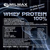 Протеин Сывороточный MILMAX WHEY PROTEIN