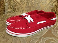 Макасины на шнурках