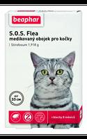 Beaphar S.O.S. 35см ошейник от блох и клещей для кошек с шестимесячного возраста (12463)