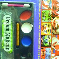 Аква-грим 4 цвета+карандаш