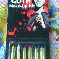 Аква-грим карандаши