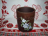 Стакан керамический красная глина (6шт)