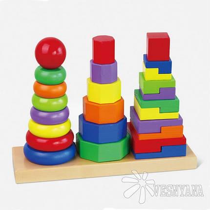 Парамидка Viga Toys 50567, фото 2