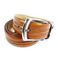 Ремень мужской кожаный универсальный Tony Bellucci 1451 коричневый