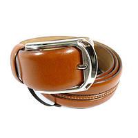 Ремень мужской кожаный универсальный Tony Bellucci 1458 коричневый