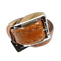 Ремень мужской кожаный универсальный Tony Bellucci 1465 коричневый
