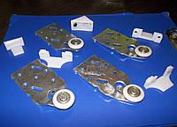 Комплект роликов Новатор для подвесной двери 60кг ITALY
