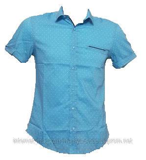Рубашка мужская, приталенный крой Норма