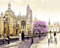 Рисование по номерам 40×50 см. Утренний Лондон Художник Ричард Макнейл